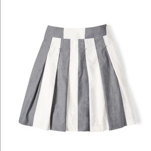 Boden Cara stripe skirt EUC